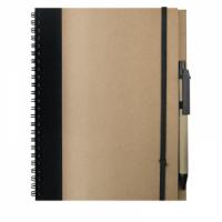 Cuaderno A5 Recikla Negro