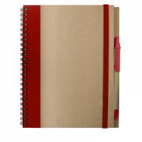 Cuaderno A5 Recikla Rojo