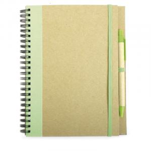 Cuaderno A5 Recikla Verde Lima