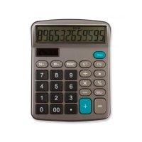 Calculadora Profesional 12 Digitos Gris Plomo Oscuro