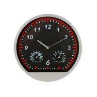 Reloj Con Estacion Meteorologica Rojo
