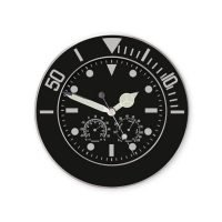 Reloj Estacion Meteorologica Negro