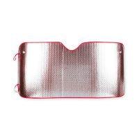 Parasol Metalico 2 Caras 130X60 Cm Rojo