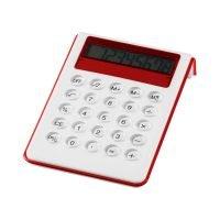Calculadora De Sobremesa 8 Digitos Rojo