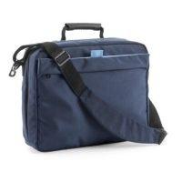 Bolsa Mochila De Poliester 168d, Compartimento Principal Para Ordenador Con Organizador. Azul Marino